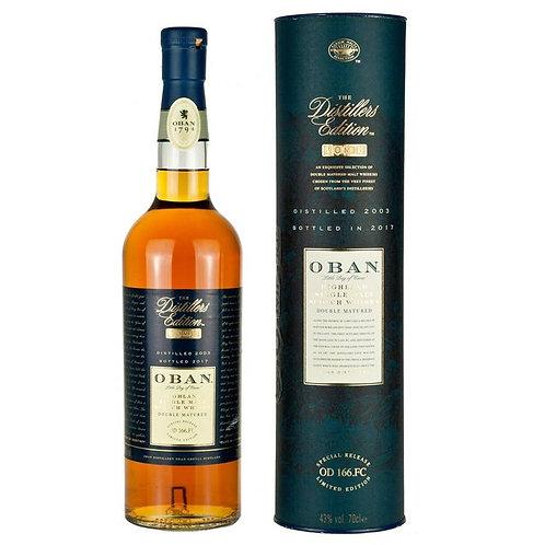 Oban Distillers Edition Single Malt Highland Scotch Whisky