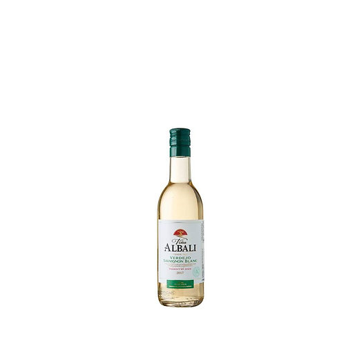 Vina Albali Verdejo Sauvignon Blanc White Wine Mini 187ml - Valdepenas, Spain