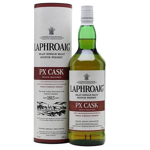 Laphroaig PX Cask Single Malt Islay Scotch Whisky 1L