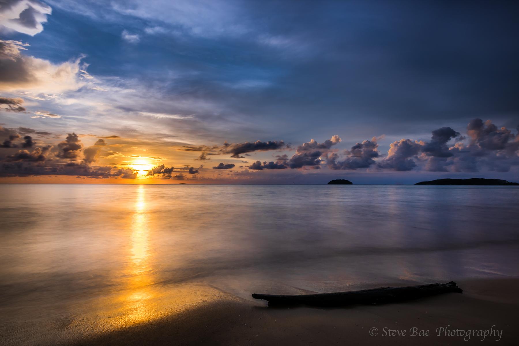 Sunset of Kota Kinabalu