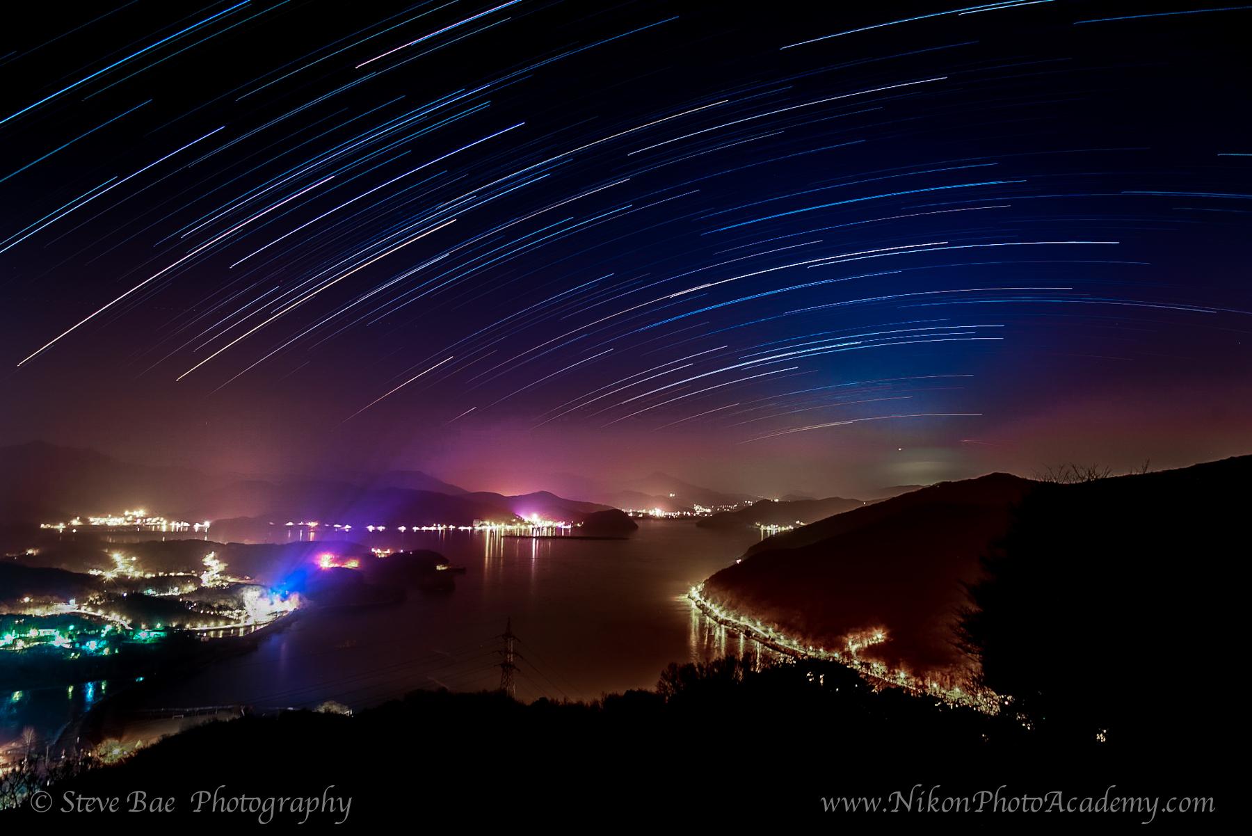 남한강의 밤