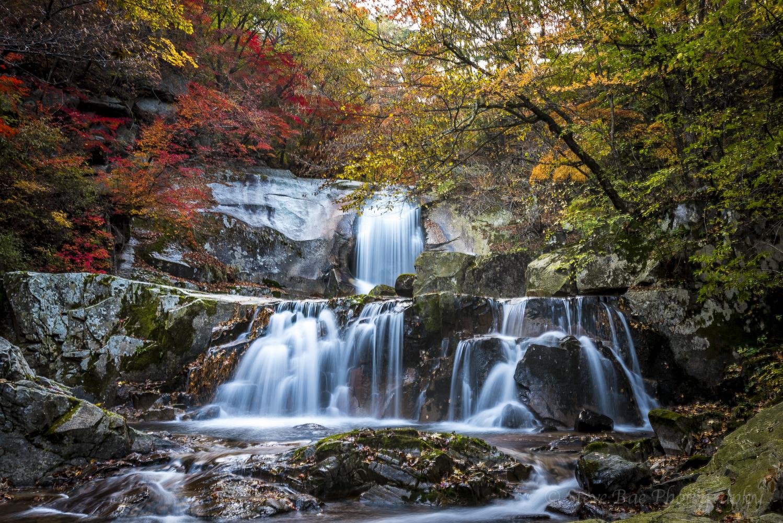 Waterfall of Mt. Bangtae