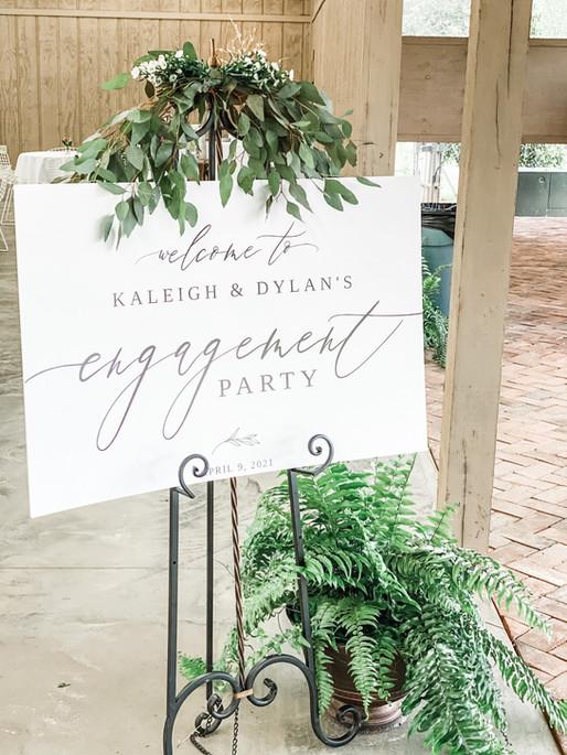 Engagement Party April 9, 2021