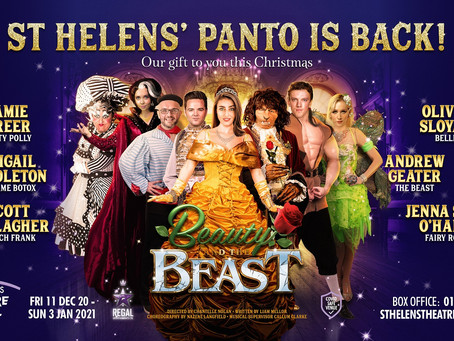 ST HELENS THEATRE ROYAL ANNOUNCE AN ONLINE EXTENSION TO THEIR 5-STAR CHRISTMAS PANTOMIME
