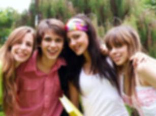 Les étudiants adolescents