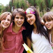 Studenten van de tiener