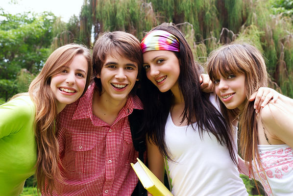 Estudantes adolescentes