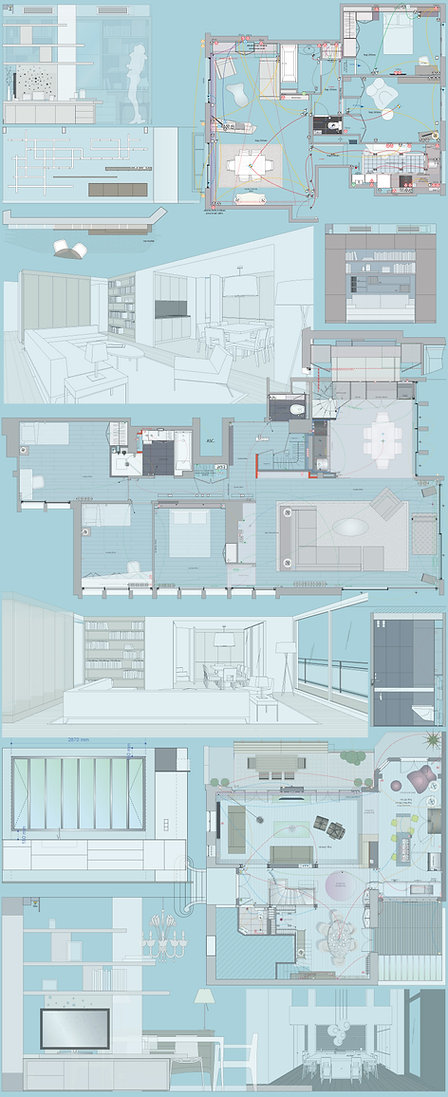 plan d'architecte interieur