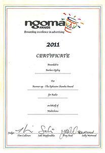 Ngoma 2011 Radio Multichoice.jpg