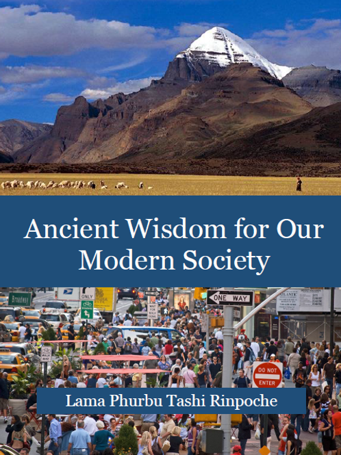 Ancient Wisdom for Our Modern Society [eBook]