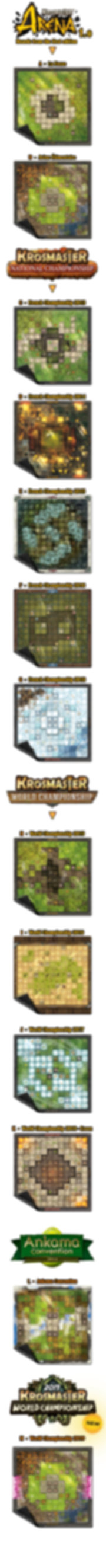 Krosmaster Playmats by Wogamat - the Com