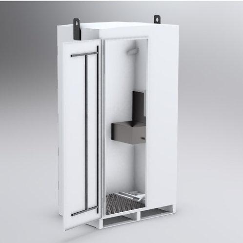 RobusClean - poste lave-main abrité et mobile