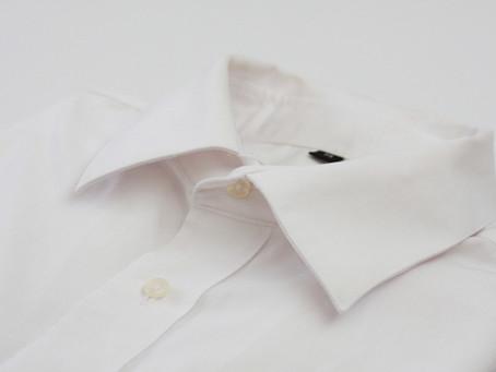襟や袖口の汚れ