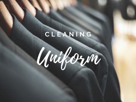 制服や作業服の業務用クリーニング