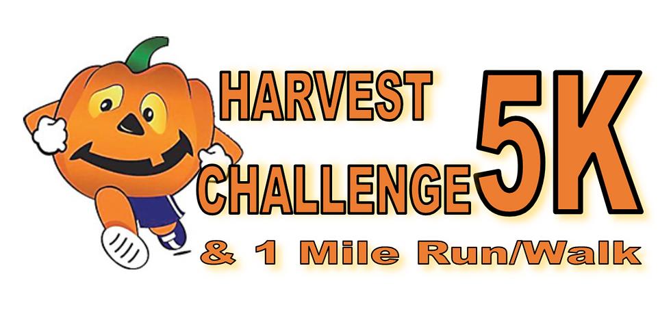 Harvest Challenge 5K & 1 Mile Run/Walk