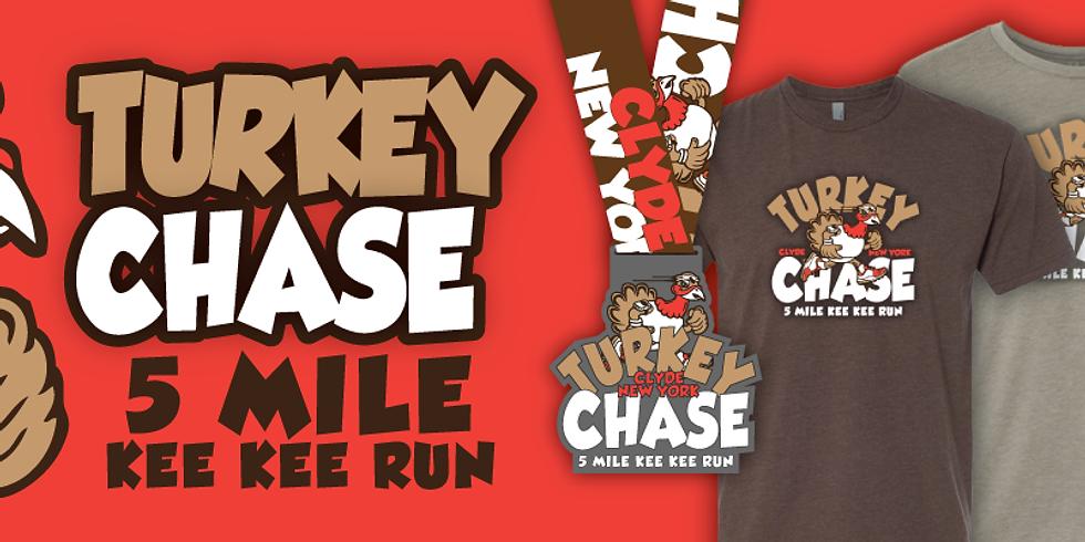 """Turkey Chase 5 Mile """"Kee Kee"""" Run"""