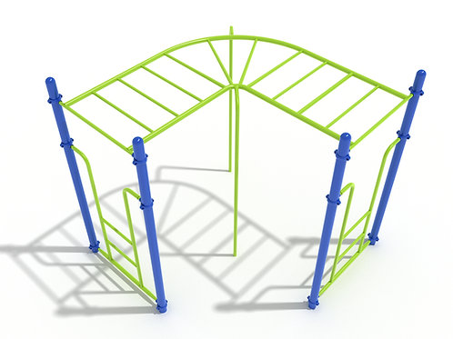 90-Degree Straight Rung Horizontal Ladder
