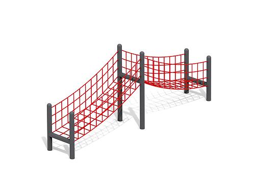 Ascend Dual Rope Bridge