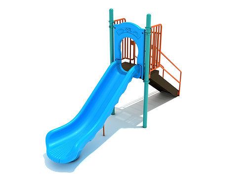 4 Foot Single Straight Slide
