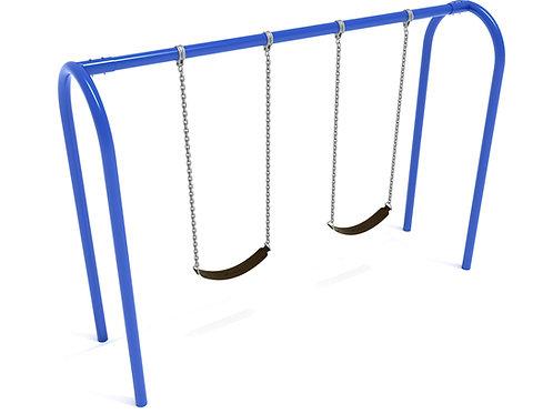 8 Feet High Elite Arch Post Swing - 1 Bay
