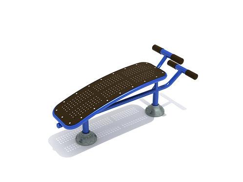 Single Station Sit Up Bench