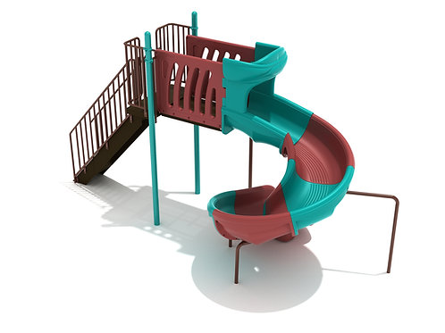 6 Foot Sectional Spiral Slide