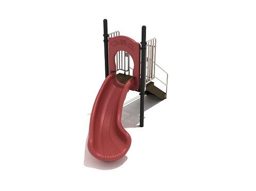 3 Foot Single Left Turn Slide
