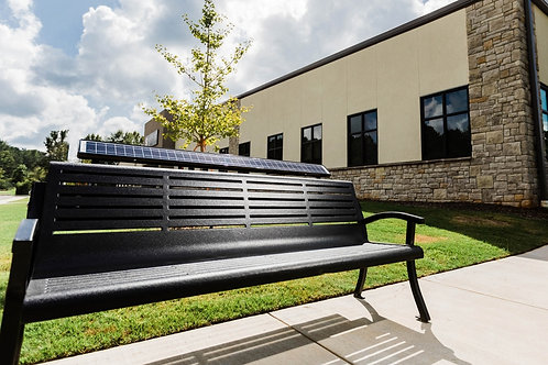 Solar Charge Bench