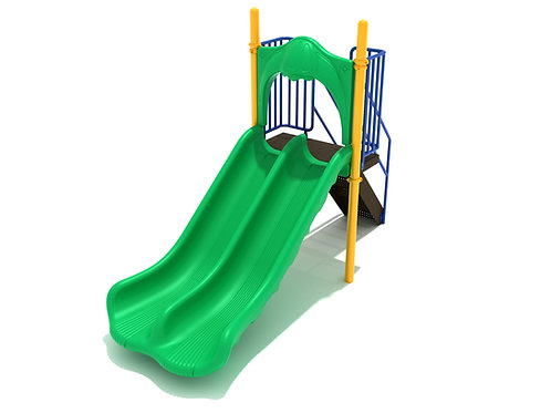 4 Foot Double Straight Slide