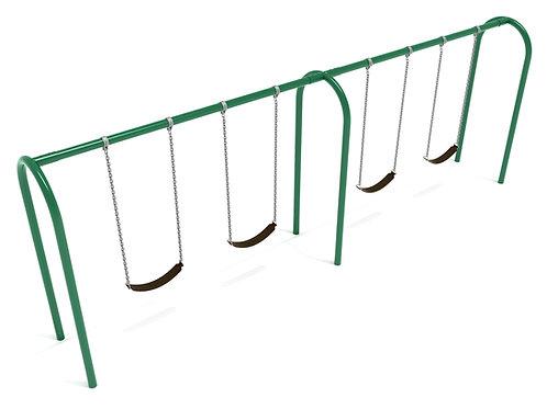8 Feet High Elite Arch Post Swing - 2 Bays