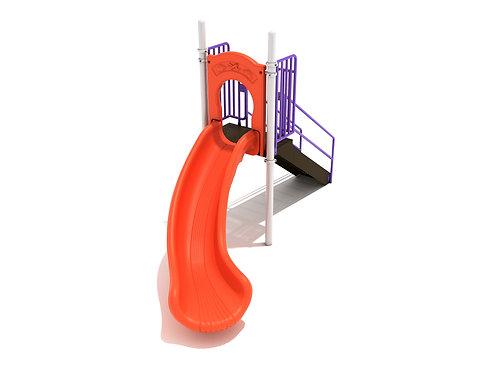 4 Foot Single Left Turn Slide