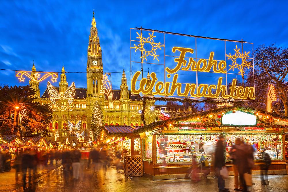 Vienna, Austria, Europe, Christmas market, river cruise, family vacation, travel advisor, group travel, luxury travel, holiday travel