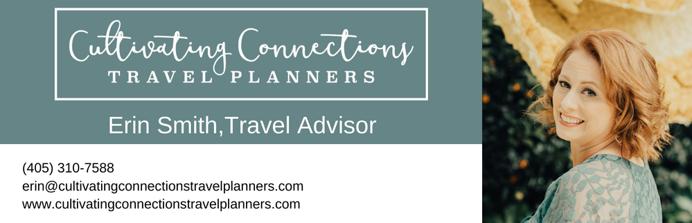 Travel Advisor, Cultivating Connections, Travel Planners, Erin Smith, Cultivating Connections Travel Planners, Concierge,