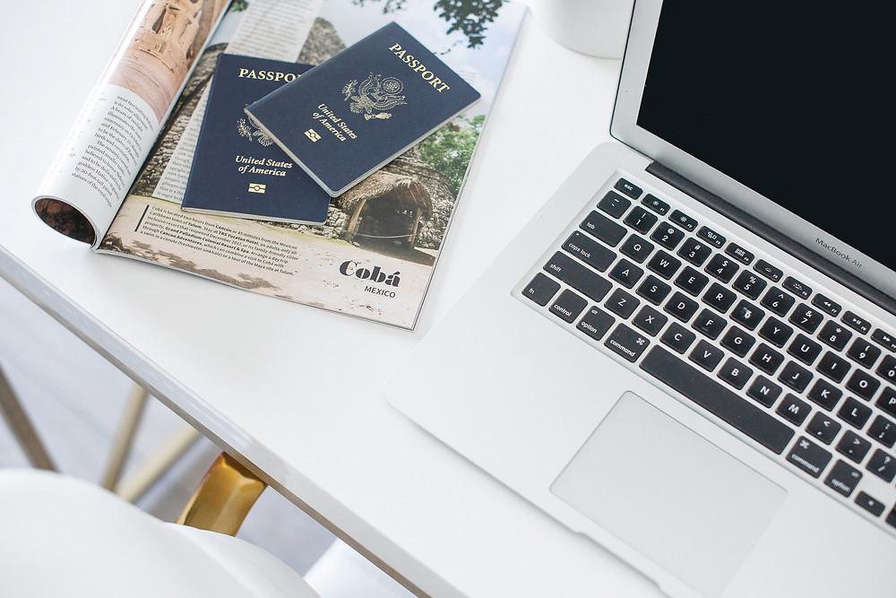 travel advisor, bucketlist travel, group travel, travel professional, culinary travel, foodies, travel insurance, family travel, vacation, destinations, online booking engine, computer, passport