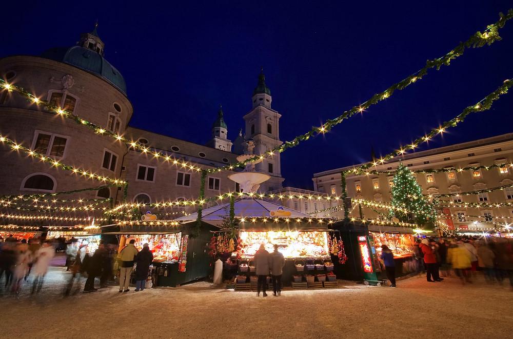 Salzburg, Austria, Europe, Christmas market, river cruise, family vacation, travel advisor, group travel, luxury travel, holiday travel
