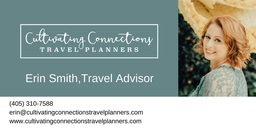 Travel Advisor, Cultivating Connections, Travel Planners, Erin Smith, Cultivating Connections Travel Planners, Concierge