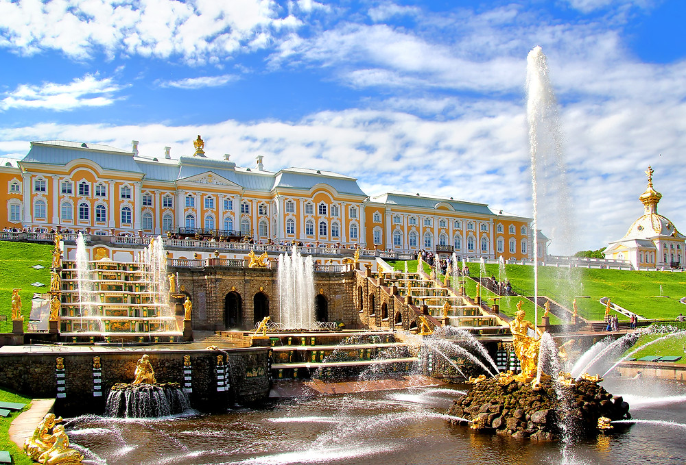 Peterhof Grand Palace affinity groups travel advisor covid-19