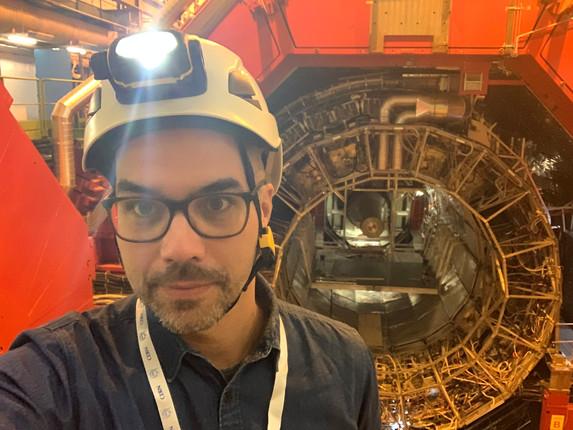 Mike im CERN