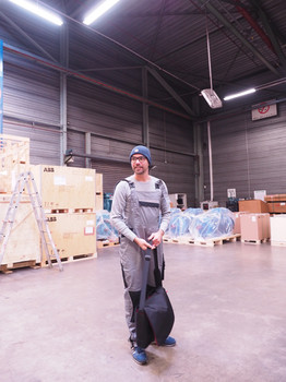Spontan als Model für DHL Freight