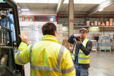 Casting bei DHL