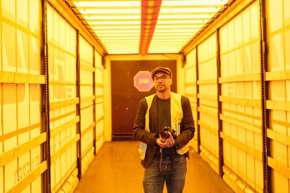 Shooting bei DHL