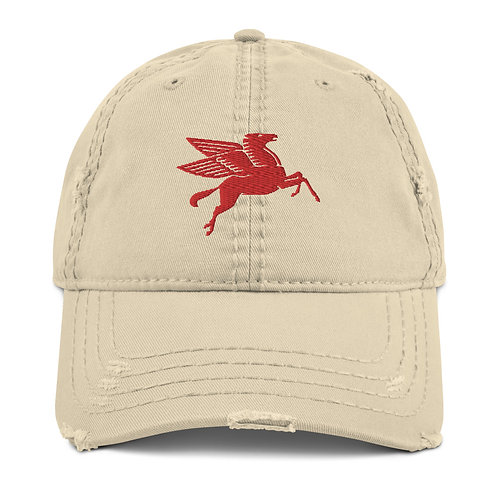 PEGASUS | Distressed Dad Hat