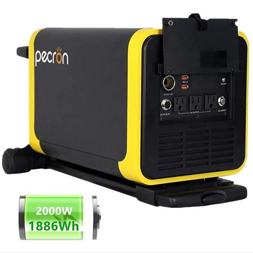 Pecron Q2000S 1886Wh(25.9V 72.8Ah) Portable Power Station