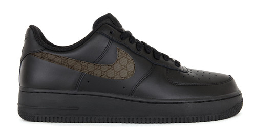 Customised Gucci Nike Air Force 1s
