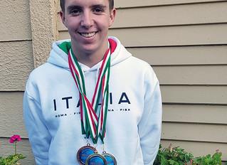 Kyle McKenzie sets record at International event