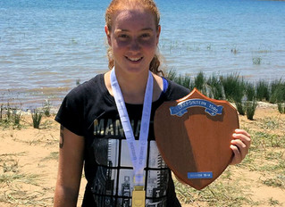 Kerrin takes 1st place in Sterkfontein 1.5km swim