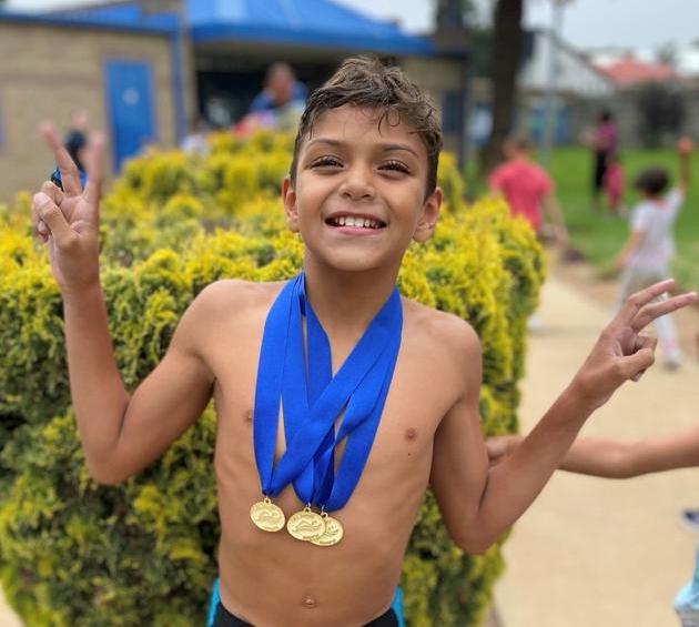 Kael - 4 gold medals