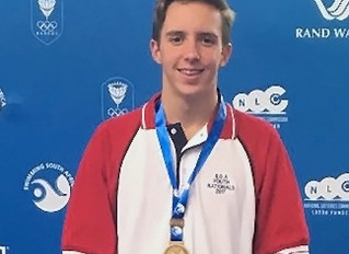 Kyle returns with 2 Bronze Medals from South African Youth Nationals