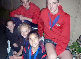 Eight ESP Swimmers Selected for 2017 Small District Championships