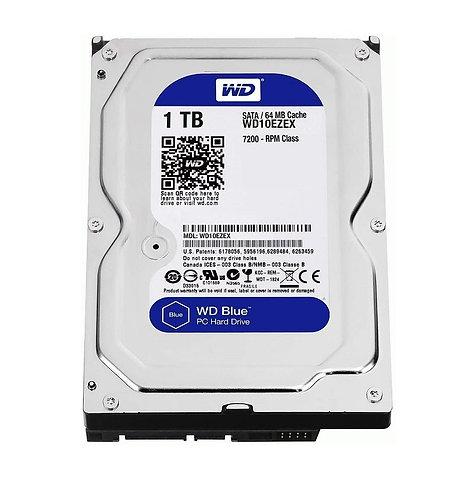 """WD Blue 1TB Desktop Hard Drive 3.5"""" SATA III"""
